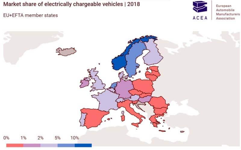 En Europe, les voitures électriques sont réservées aux plus hauts revenus