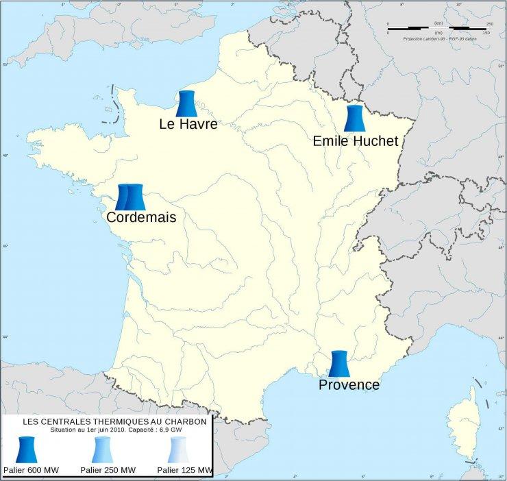 Impact de l'arrêt des centrales à charbon en France
