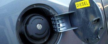Car diesel tank cap