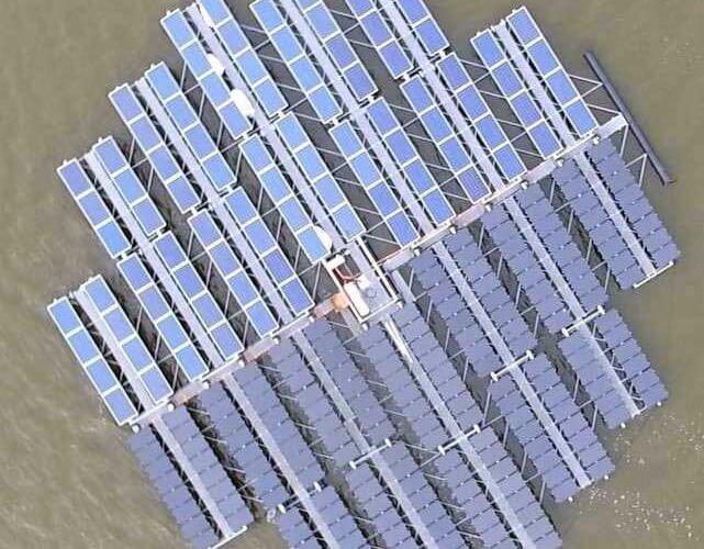 Ilot Solaire floating-solar