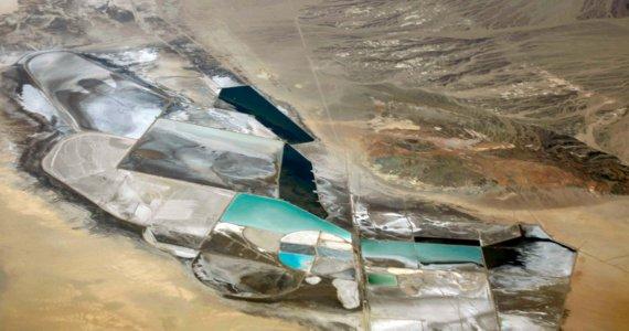 Mine de lithium Nevada