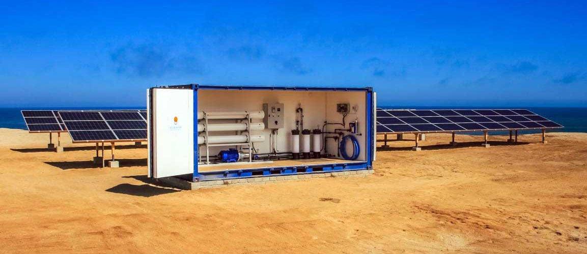 Dessaler l'eau de mer avec de l'énergie solaire
