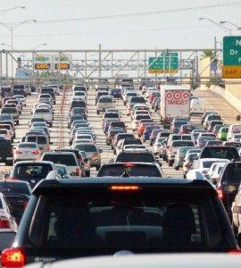Embouteillage Miami Wikimedia commons