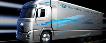 Camion Hydrogene Hyundai
