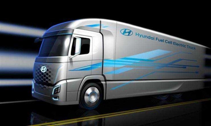 En Suisse, le camion à hydrogène c'est maintenant