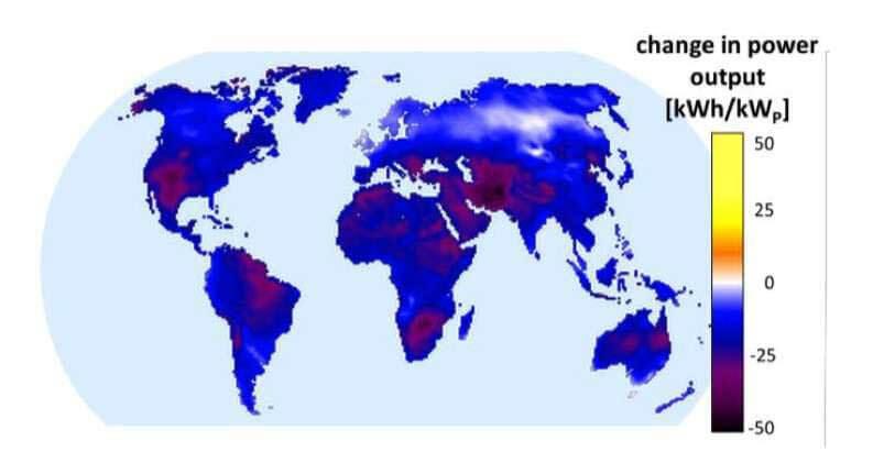 Le réchauffement pose un sérieux problème aux panneaux solaires
