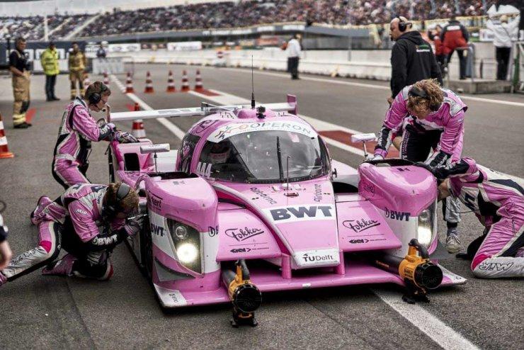 Pour la première fois, une voiture à hydrogène finit sur le podium d'une course automobile