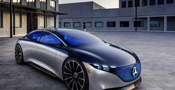 Mercedes-Benz VISION EQS, IAA 2019
