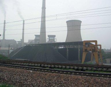 Centrale au charbon Chine