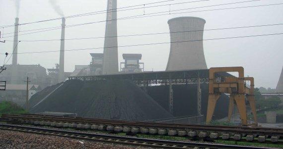 Centrale au charbon