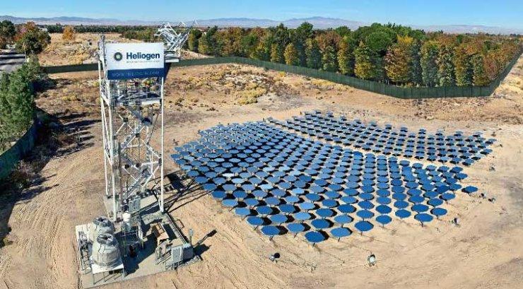 Heliogen apporte une solution solaire à l'industrie lourde