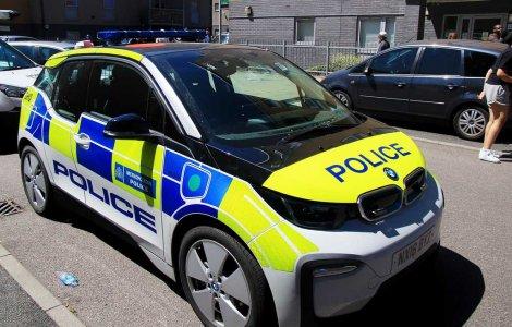 BMW i3 Police Anglaise