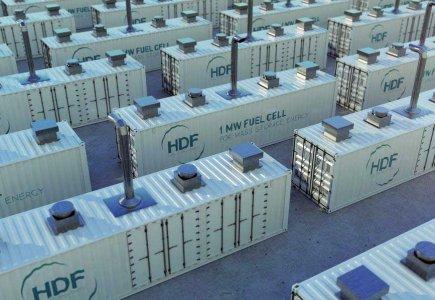 Pile combustible hydrogène HDF