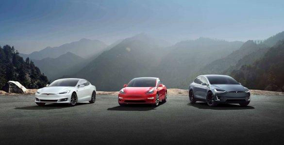 Les modeles Tesla