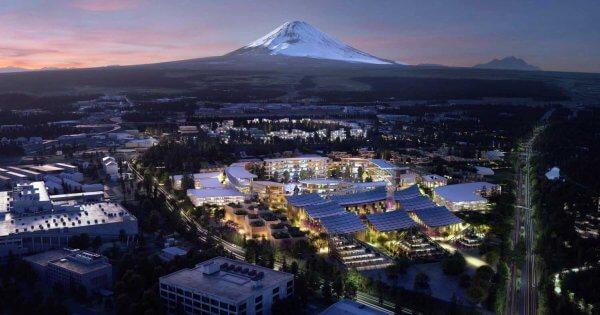 La ville de l'hydrogène que Toyota veut construire