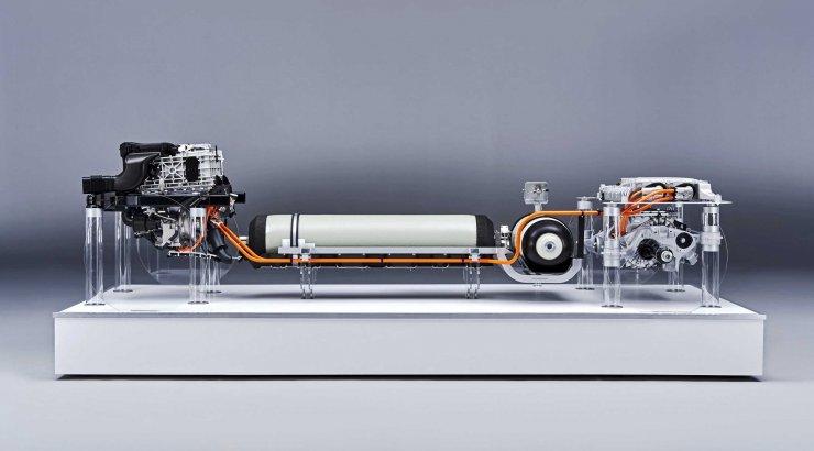 BMW groupe motopropulseur hydrogène X5