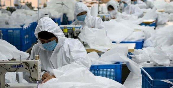 Production combinaisons étanches Chine coronavirus