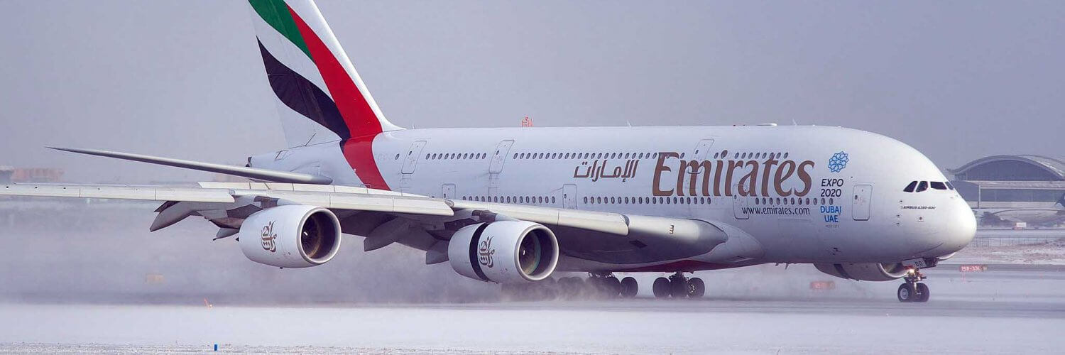 Airbus A380-800 Emirates Wikimedia Commons