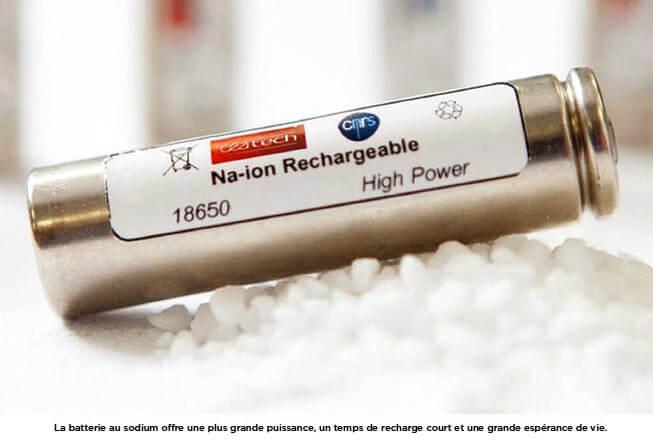 Batteries Sodium