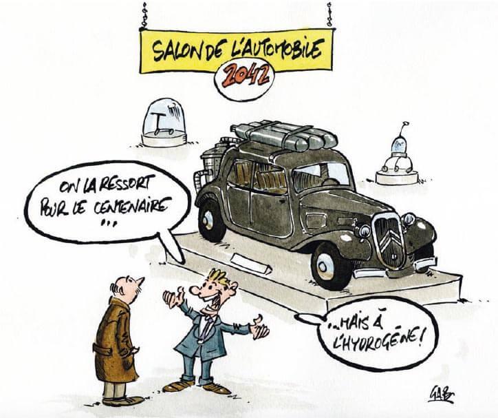 GAB Hydrogène Salon de l'auto