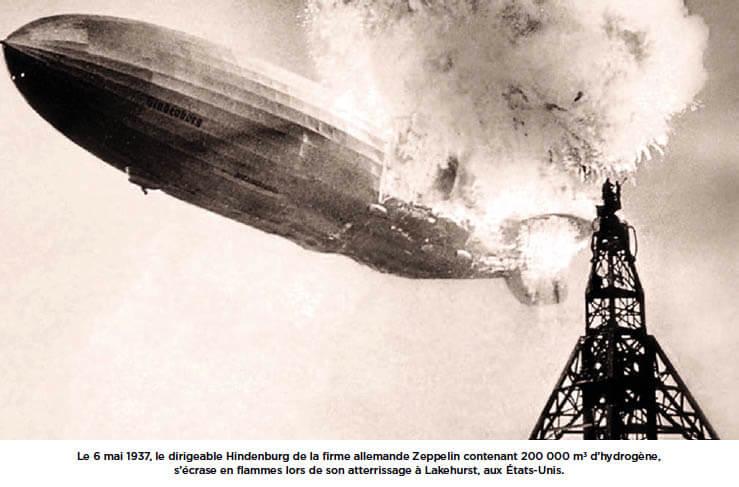 Incendie du dirigeable Hindenburg Wikimedia Commons