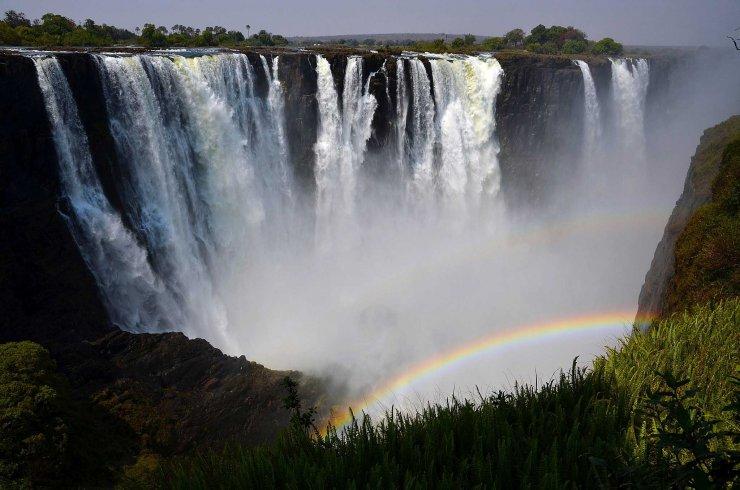 Les chutes Victoria Zimbabwe Wikimedia Commons