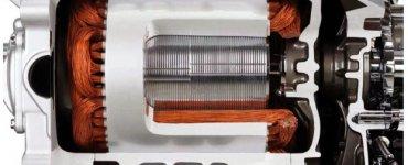 Moteur électrique Nissan Leaf