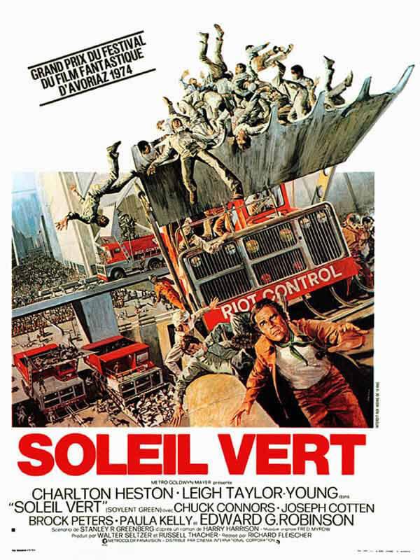 Affiche Film Soleil vert