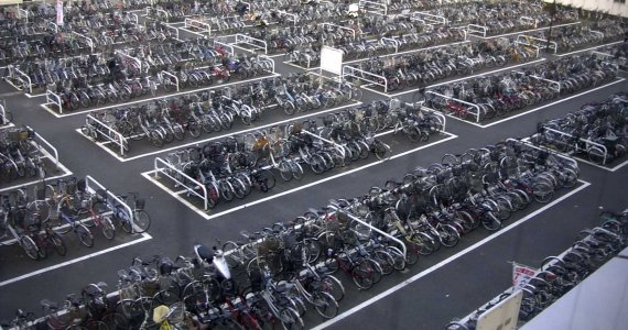 Parking Vélo Japon Wikimedia Commons