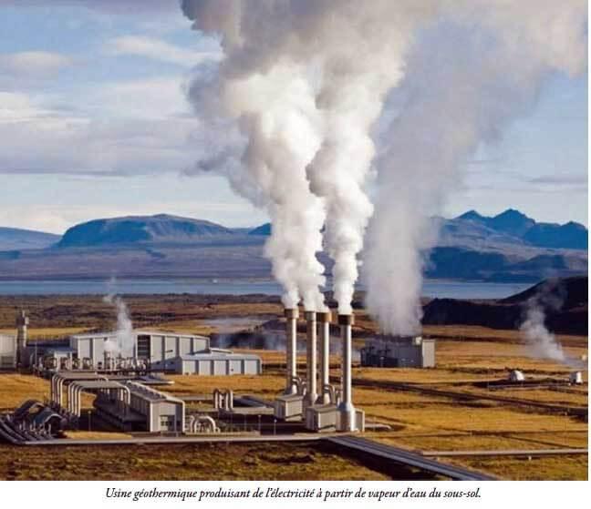 Usine géothermique