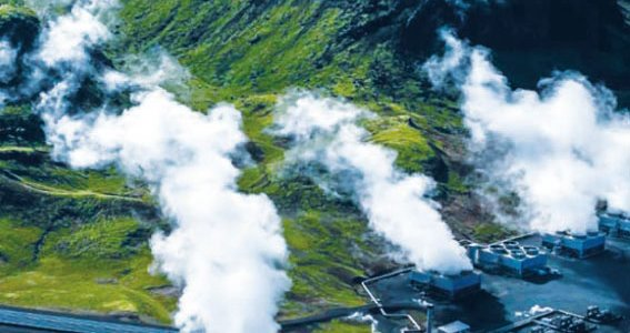 Installation géothermique