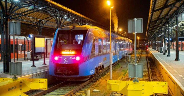 Alstom Coradia iLint Test Pays-Bas