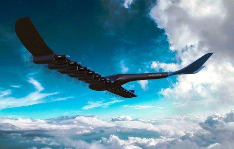 Element One HES avion hydrogene