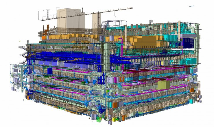 Schéma du réacteur ITER Juin 2020 ITER