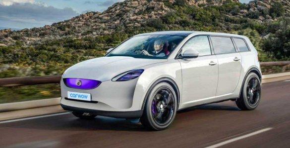 Prototype de voiture électrique de Dyson