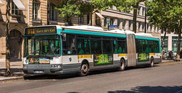 Bus RATP Wikimedia Commons