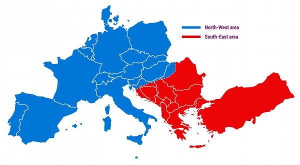 Réseau européen coupé en deux le 8 janvier
