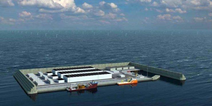 La future île artificielle danoise
