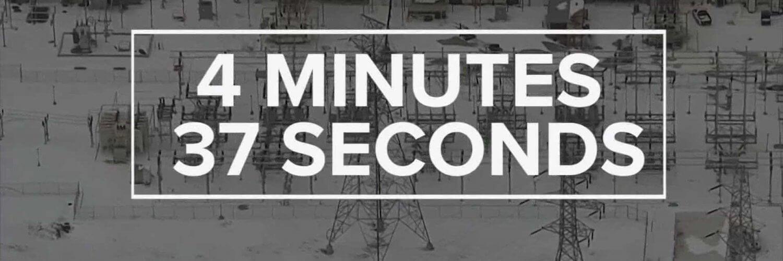 Le réseau électrique du Texas a été à 4 minutes et 37 secondes de l'effondrement total