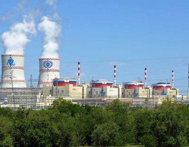 Les quatre réacteurs de la Centrale nucleaire de Rostov Wikimedia Commons