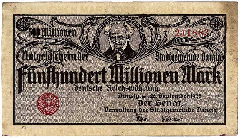 Inflation 1923_gdansk_500mln