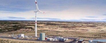 Dessin de l'usine chilienne de Porsche et Siemens Energy